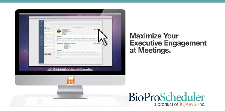 JUJAMA Introduces BioProScheduler: Efficient, Secure Tool to Maximize Executive Productivity at Networking Events