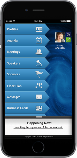 JUJAMA mobile apps can be customized with your brand