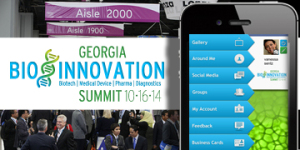 Georgia Bio Innovation Summit Participants to Forge Strategic Partnerships Via JUJAMA's Integrated Conference Registration, Mobile App
