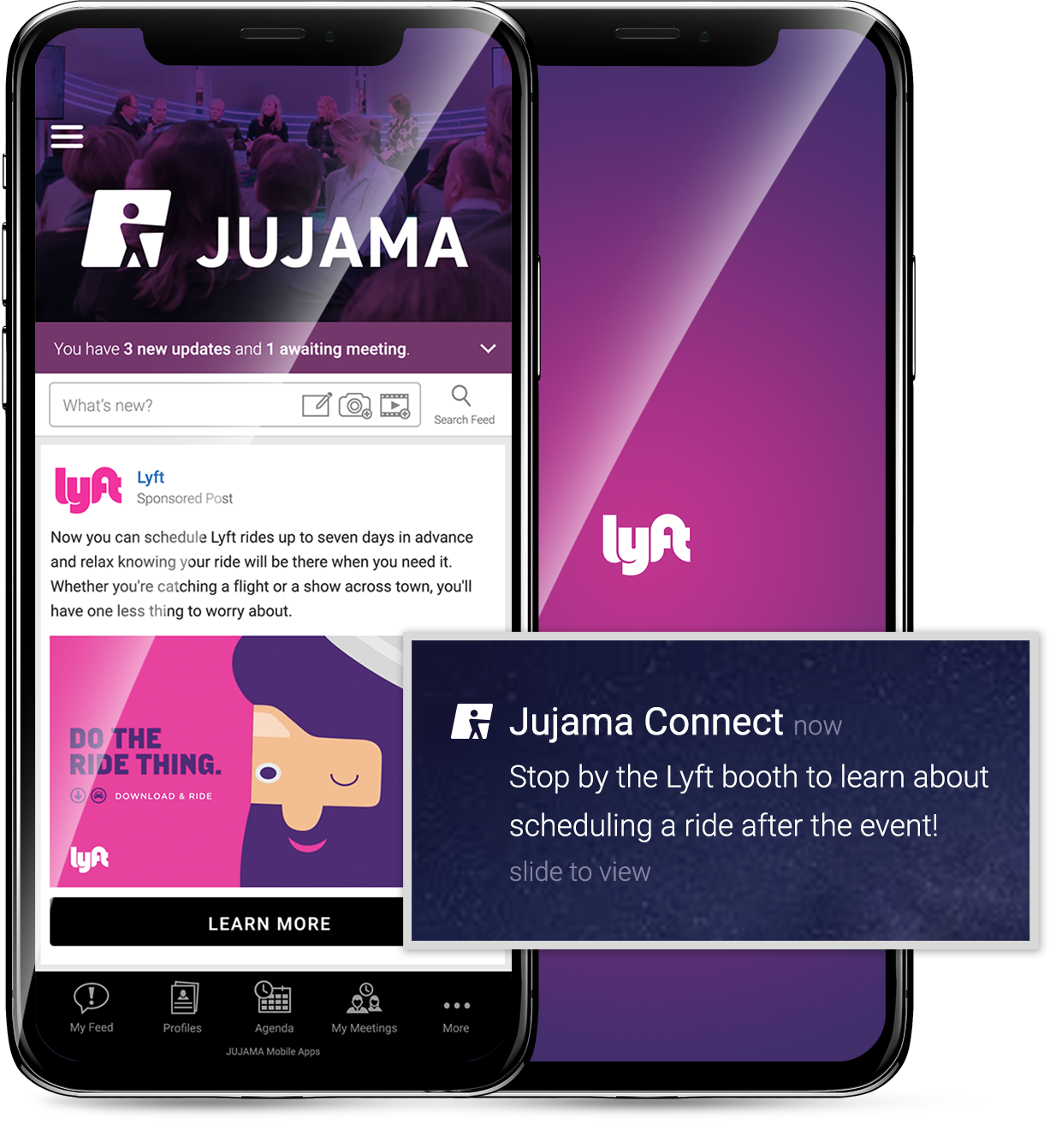 Jujama offers many sponsorship opportunities