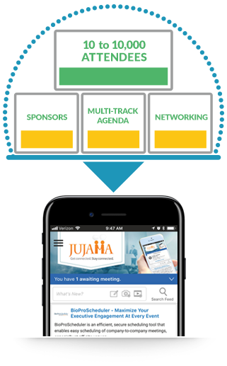 JUJAMA offers many sponsorship opportunities
