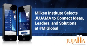 Milken Institute Selects JUJAMA To Power Global Problem-Solving Event
